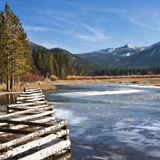 Winter at Upper Trout Creek, South Lake Tahoe